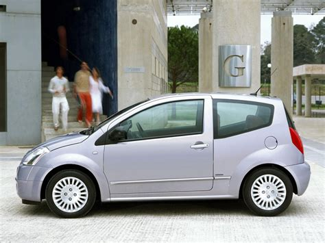 Citroen C2 Technical Specifications And Fuel Economy
