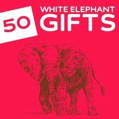 White Elephant Gift on Pinterest