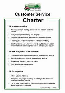 Client service charter template gallery template design for Customer care charter template