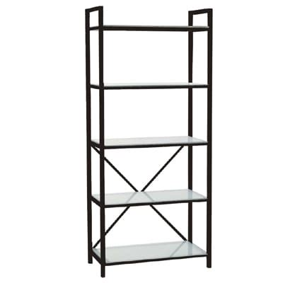 Black Etagere by Black Etagere Glass Shelves Accent Tradeshow Event