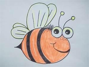 Bilder Zeichnen Für Anfänger : kawaii bilder tutorial eine biene malen zeichnen lernen f r anf nger und kinder youtube ~ Frokenaadalensverden.com Haus und Dekorationen