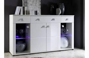 Petit Buffet Salon : les concepteurs artistiques meuble bas blanc laque pas cher ~ Teatrodelosmanantiales.com Idées de Décoration