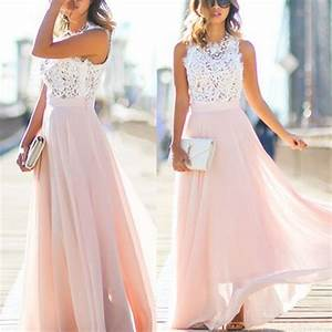 online junior unique long prom dress light blush pink With wish com wedding dresses