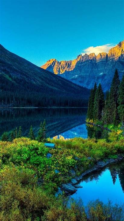 4k Mountains Forest River Nature Wallpapers