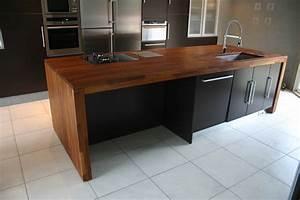Les plans de travail bois massif comptoir des bois for Exceptionnel couleur moderne pour salon 5 les plans de travail bois massif comptoir des bois