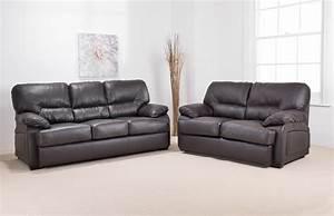 Elegant leather sofas one Decor