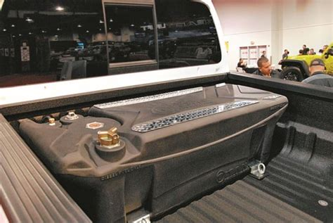 Industry's First Polymer, In-bed, Diesel Fuel Tank