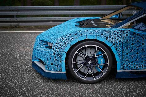 From the outset, we anticipated the build would be a challenge; LEGO actually built a life-sized Bugatti Chiron that you can drive! - AutoBuzz.my