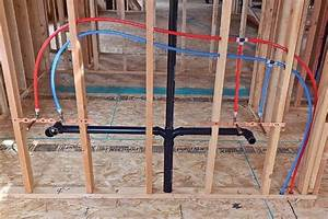 Rough-in Plumbing In New Construction
