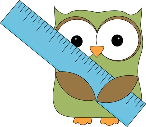 owl math clipart owl with ruler clip owl with ruler image