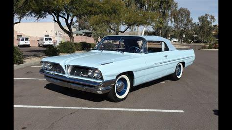 1961 Pontiac Catalina Convertible In Tradewind Blue Paint