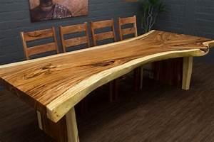Tisch 3 Meter : 3 meter baumstamm esstisch aus einer suar massivholz baumscheibe ~ Indierocktalk.com Haus und Dekorationen