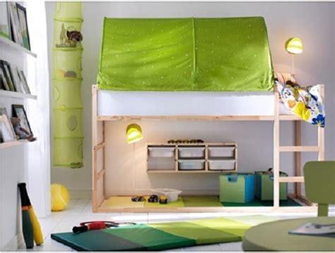 chambres enfants ikea chambre d 39 enfant lit réversible kura par ikea