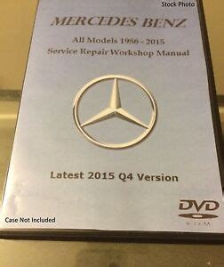 service repair manual free download 2009 mercedes benz cl65 amg parental controls mercedes benz all models 1986 2017 service repair workshop manual oem software b ebay