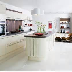 White Kitchen Floor Tile
