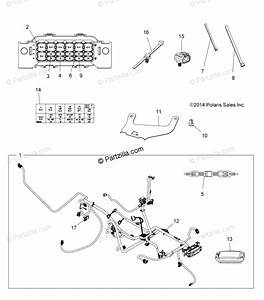 Polaris Atv 2015 Oem Parts Diagram For Electrical Harness