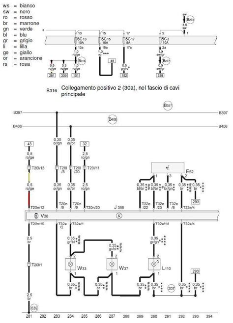 schema elettrico schema elettrico chiusura porta