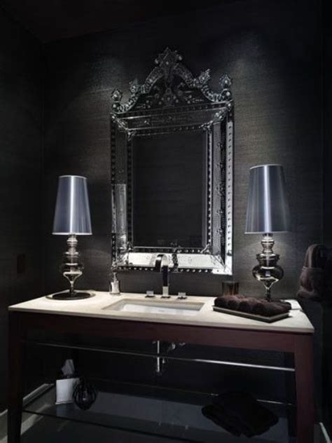 dramatic gothic bathroom designs ideas digsdigs