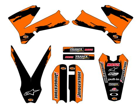 kit deco ktm 85 kit d 233 co personnalisable ktm 85 sx de 2003 224 2015 mx stickers kdp85sx