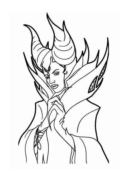 Maleficent Coloring Pages Fun