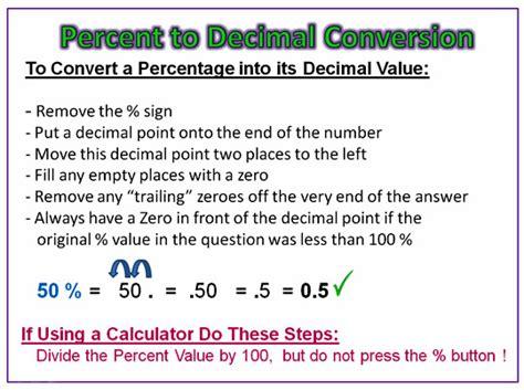 Converting Percentages  Passy's World Of Mathematics