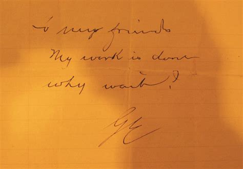 The Very Concise Suicide Note by Kodak Founder George ...