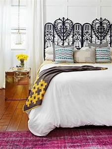 Idee Deco Tete De Lit : les 25 meilleures id es de la cat gorie t te de lit en fer forg sur pinterest d cor mural ~ Melissatoandfro.com Idées de Décoration