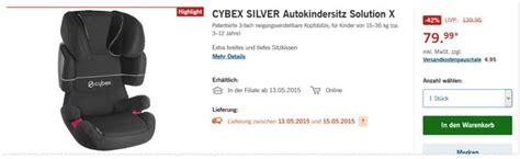 cybex silver solution cybex silver solution x lidl angebot ab 13 5 2015