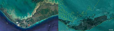 shocking satellite images show grand bahama island