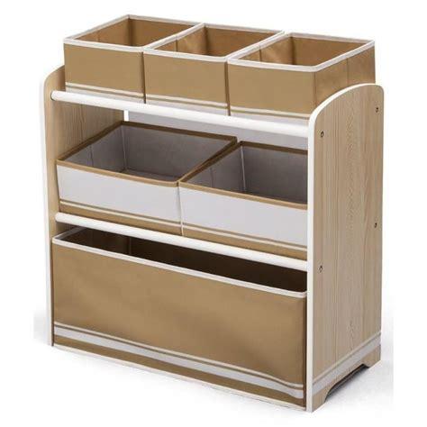 meuble rangement chambre delta meuble de rangement enfant jouets 6 bacs en bois
