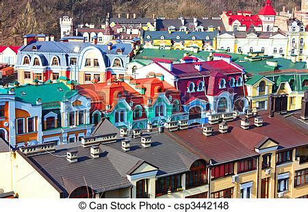 Pictures Of Small Colore Country Of Podol Taken In Kiev