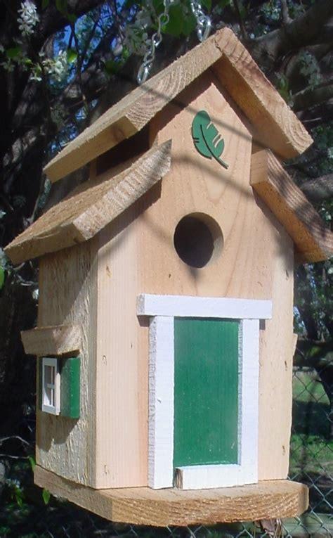 bird houses  mark cedar bird house hunter green