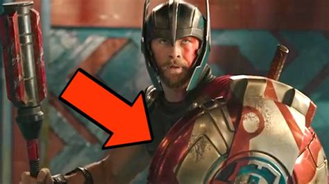 thor ragnarok trailer breakdown easter eggs predict