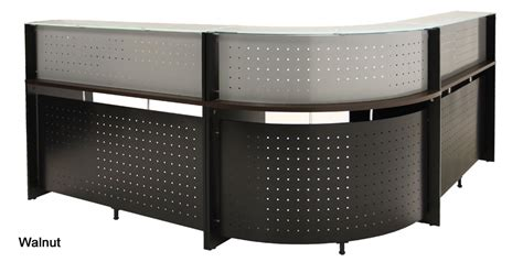 l shaped reception desk l shaped glass top reception desk