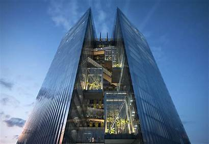 Bank Commercial Mixed Aedas Headquarters Architecture Project