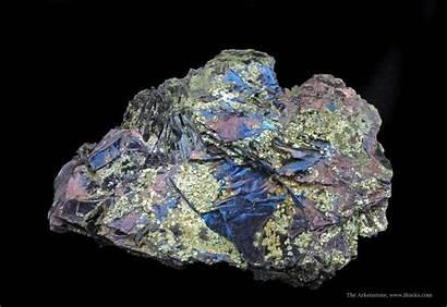 Mineral Specimen Covellite Minerals Specimens Pyrite Mine