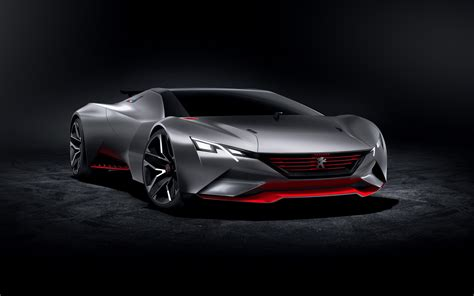Peugeot Vision Gran Turismo 2, Hd Cars, 4k Wallpapers