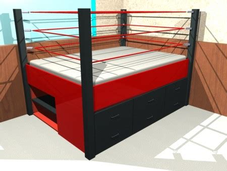 Ring Beds by Boxing Ring Happy Furniture