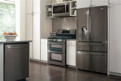 Kitchen Collections Appliances Small Lg Introduces Collection Kitchen Appliances Sans Smudges Cnet