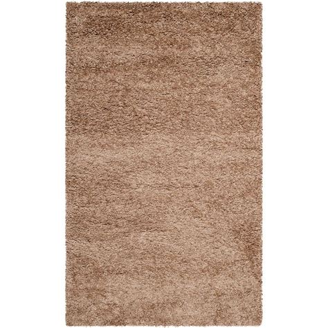 beige shag rug safavieh milan shag beige 3 ft x 5 ft area rug