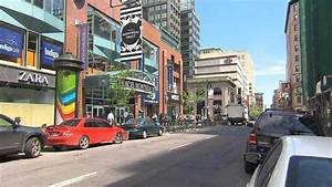 Ste-Catherine Street in downtown Montreal to be ...