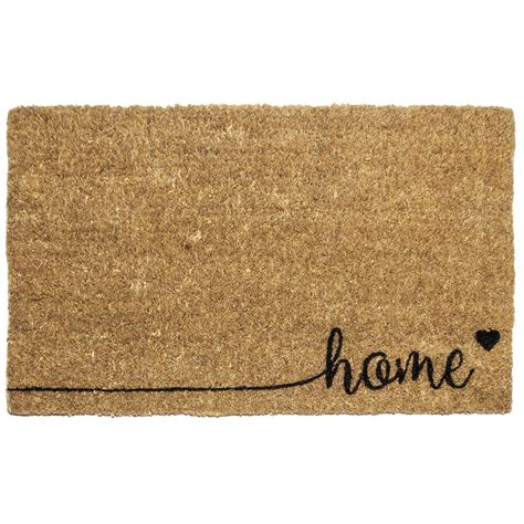 Home Doormat by Entryways Aloha 18 In X 30 In Woven Coconut