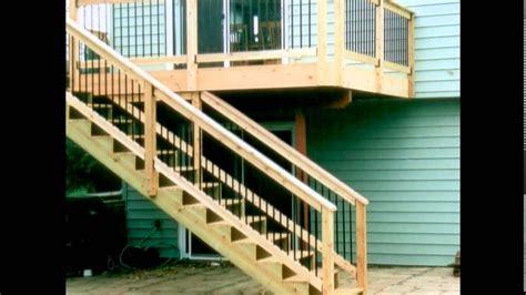 Porch Stair Handrail by Deck Stair Railing Deck Stair Handrail Outdoor Design