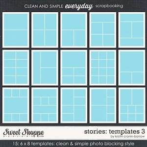 Layout Templates  12 X12  8 5 X 11  And 6 X 8