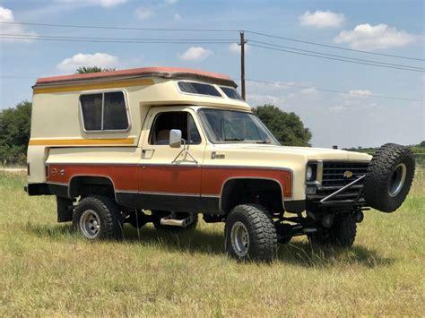 Blazer Chalet For Sale by 1976 Chevrolet Blazer Chalet For Sale