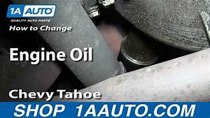 How To Do A Engine Oil Change 1995