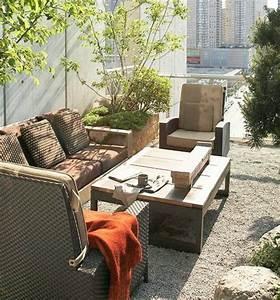 Meuble De Balcon : 18 id es originales pour l am nagement de balcon et terrasse ~ Premium-room.com Idées de Décoration