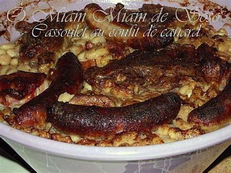 cuisiner un cassoulet cassoulet au confit de canard ou cassoulet castelnaudary