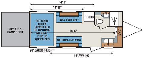 voltage toy hauler floor plans floor 2016 seismic toy
