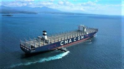 la cma cgm soffre le  gros porte conteneur au monde